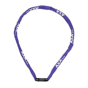 Lock AXA Rigid chain RCC 120 code violet 59540395SS, AXA