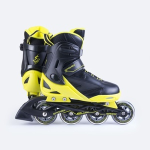 Roller skates Spokey SPOOX black-yellow, Spokey
