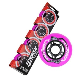 Set Wheels Tempish RADICAL COLOR 76x24 mm 85A (4 pc), Tempish
