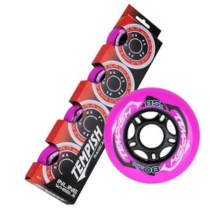 Set Wheels Tempish RADICAL COLOR 80x24 mm 85A (4 pc), Tempish