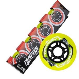 Set Wheels Tempish RADICAL COLOR 80x24 mm 85A (4 pc), Tempish
