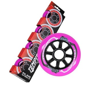 Set Wheels Tempish RADICAL COLOR 90x24 mm 85A (4 pc), Tempish