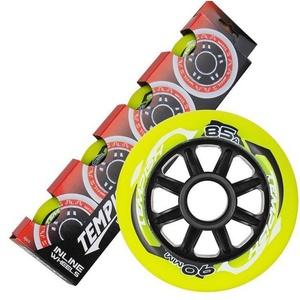 Set Wheels Tempish RADICAL COLOR 90x24 mm 85A (4 pc), Tempish