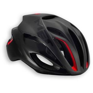 Helmet MET Rivale black / red, Met