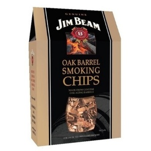 Wooden chips to smoking Jim Beam, Steven Raichlen