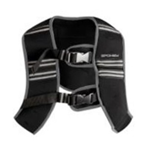 Vest with weight Spokey  BESTOW  II 5 kg size. L black, Spokey