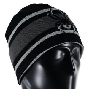 Headwear Spyder Men `s Reversible Word 726307-001, Spyder