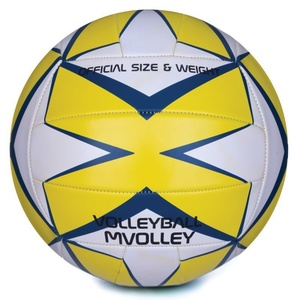 Volleyball ball Spokey MVOLLEY yellow, Spokey