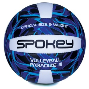 Volleyball ball Spokey Paradize 3rd blue-white vel.5, Spokey