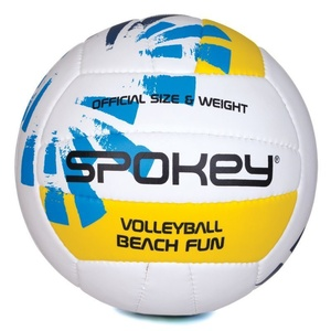 Volleyball ball Spokey BEACH FUN blue-white č.5, Spokey