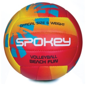 Volleyball ball Spokey BEACH FUN red-yellow č.5, Spokey
