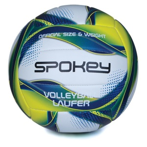 Volleyball ball Spokey LAUFER white-blue-yellow rozm.5, Spokey
