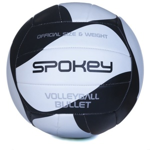 Volleyball ball Spokey BULLET black and white, Spokey