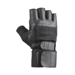 Fitness gloves Spokey Guanta II black, Spokey