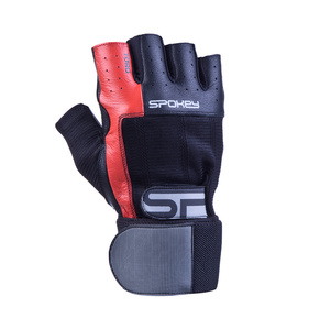 Fitness gloves Spokey TORO II black and red, Spokey