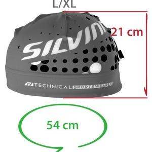 Headwear Silvini MAIRA UA714 black-white, Silvini