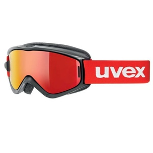 Ski glasses Uvex SPEEDY PRO TAKE OFF, black-red / litemirror red (2026), Uvex