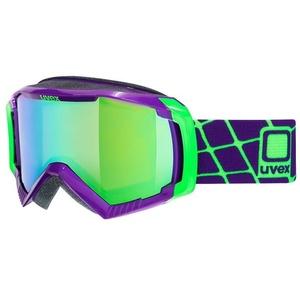 Ski glasses Uvex G.GL 100, dark purple / litemirror green (9926), Uvex