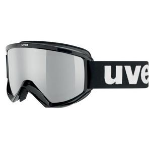 Ski glasses Uvex FIRE FLASH, black / litemirror silver (2026), Uvex