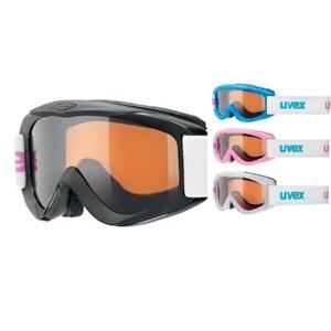 Ski glasses Uvex SNOWY PRO SET, polarwhite / black / iceblue / pink, Uvex