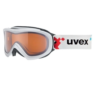 Ski glasses Uvex Wizzard DL, white pacman double lens / lasergold (1022), Uvex