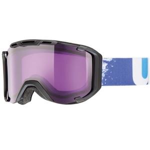 Ski glasses Uvex UVEX SNOWSTRIKE, black mat / psycho (2224), Uvex