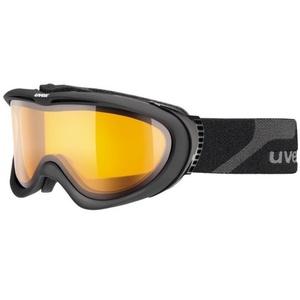 Ski glasses Uvex UVEX COMANCHE, black mat / lasergold lite (4229), Uvex