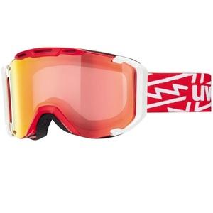 Ski glasses Uvex G.GL 300 TAKE OFF, black mat / litemirror green (2126), Uvex