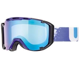 Ski glasses Uvex SNOWSTRIKE IN M, indigo / variomatic / litemirror blue (4023), Uvex