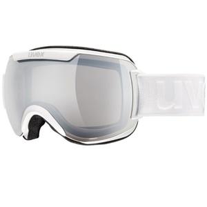 Ski glasses Uvex DOWNHILL 2000, white double lens / litemirror silver (1826), Uvex