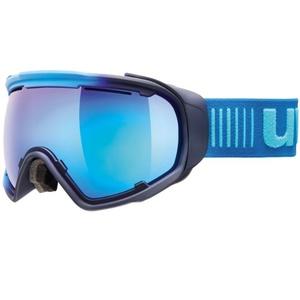 Ski glasses Uvex JAKK SPHERE, ice-navy mat / mirror blue (4026), Uvex