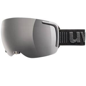 Ski glasses Uvex BIG 40 FM, white mat double lens / full mirror pink (1026), Uvex