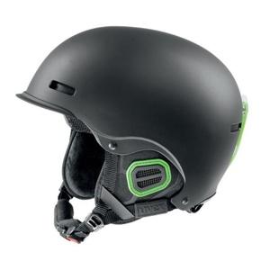 Ski helmet UVEX HLMT 5 PRO, black-green mat (S566146270*), Uvex