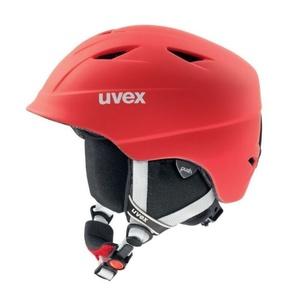Ski helmet UVEX AIRWING 2 PRO, red mat (S566132300*), Uvex