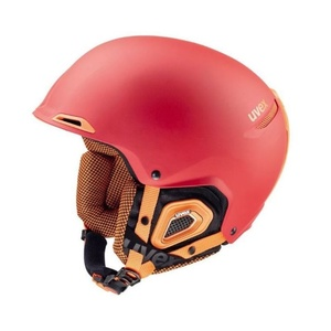 Ski helmet UVEX UVEX JAKK +, red-orange mat (S566182380*), Uvex