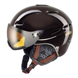 Ski helmet UVEX HLMT 200 WL, chocolate (S566183800*), Uvex