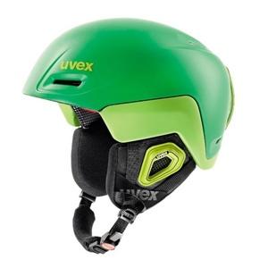 Ski helmet UVEX JIMM OCTO +, green-lemon mat (S566205320*), Uvex