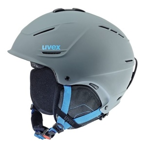 Ski helmet UVEX P1US, gray-blue mat (S566153540*), Uvex