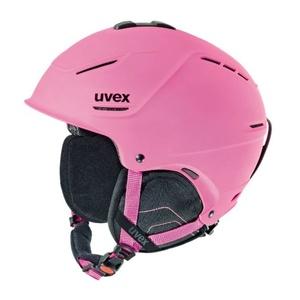 Ski helmet UVEX P1US, pink mat (S566153910*), Uvex