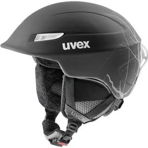 Ski helmet UVEX GAMMA, black flash mat (S566189210*), Uvex