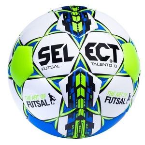 Futsal ball Select FB Futsal talento 13 white blue, Select
