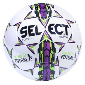 Futsal ball Select FB Futsal Super white purple, Select
