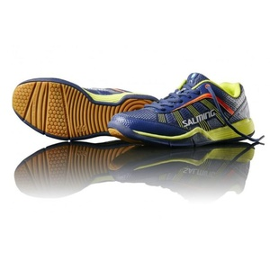 Shoes Salming Adder Junior Blue / Yellow, Salming