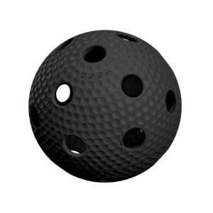 Floorball balloon Salming Aero Plus Ball black, Salming