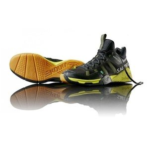 Shoes Salming Cobra Mid Black / Yellow, Salming