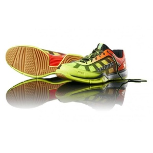 Shoes Salming Viper 4 Men Yellow / Orange, Salming