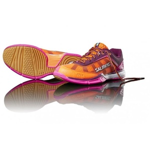 Shoes Salming Viper 4 Women Purple / Orange, Salming