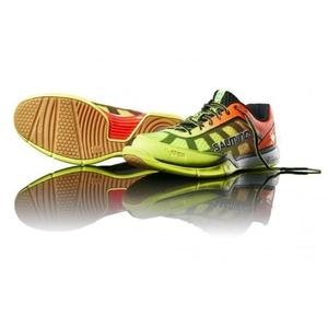 Shoes Salming Viper 4 JR Yellow / Orange, Salming