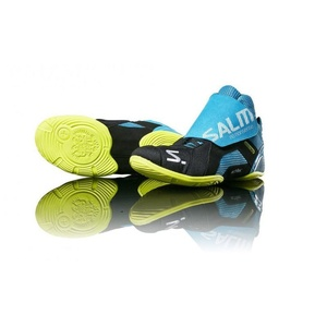 Shoes Salming Slide 5 Goalie Shoe Cyan / Black, Salming