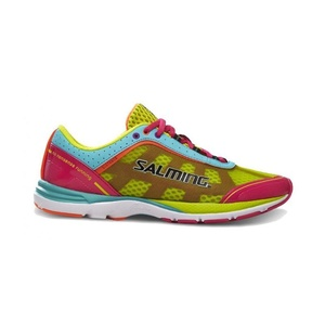 Shoes Salming Distance 3 Women Pink / Turquoise, Salming